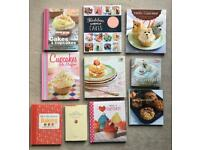 Baking and cake decorating books from £2