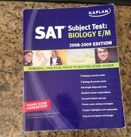 Kaplan SAT Subject Test: Biology E/M $10 or BEST OFFER
