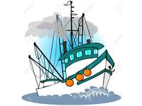 fishing boat wanted project up to 2K