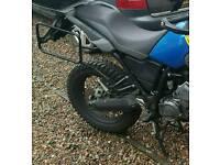 Yamaha xt660z tenere crash bars,pannier rack,alloy sump guard.