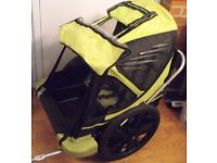 Bicycle taxi trailer to suit child 18 months +