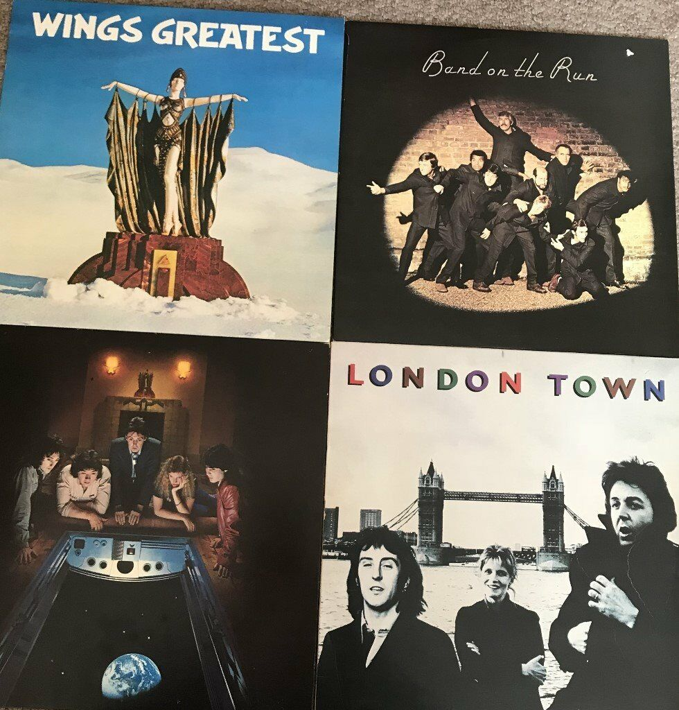 Paul McCartney / Wings - Wings Greatest/Band on the Run/ London Town/ Back  to the Egg - Add pp £3 99 | in Bishops Stortford, Hertfordshire | Gumtree