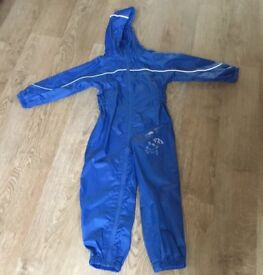 Puddle suit rain suit waterproof for age 5-6 years by Regatta