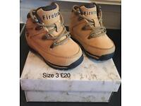 Firetrap boys boots. Size 3. great condition