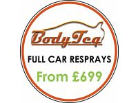 Full Car Respray *SUMMER PROMOTION* | BODYTEQ - London's Leading Accident Repair & Service Centre