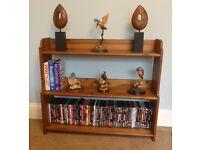Pine IKEA Bookcase with one fixed shelf