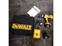 Dewalt dc981ka combi cordless drill