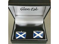 Saltire Cuff Links