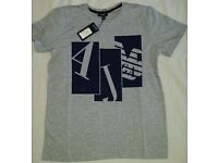 New armani AJ t-shirts - muscle fit - new with tag - colour: grey - size: small & medium available