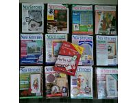 Collection of over 240 Cross Stitch Magazines, that's over 1000 patterns