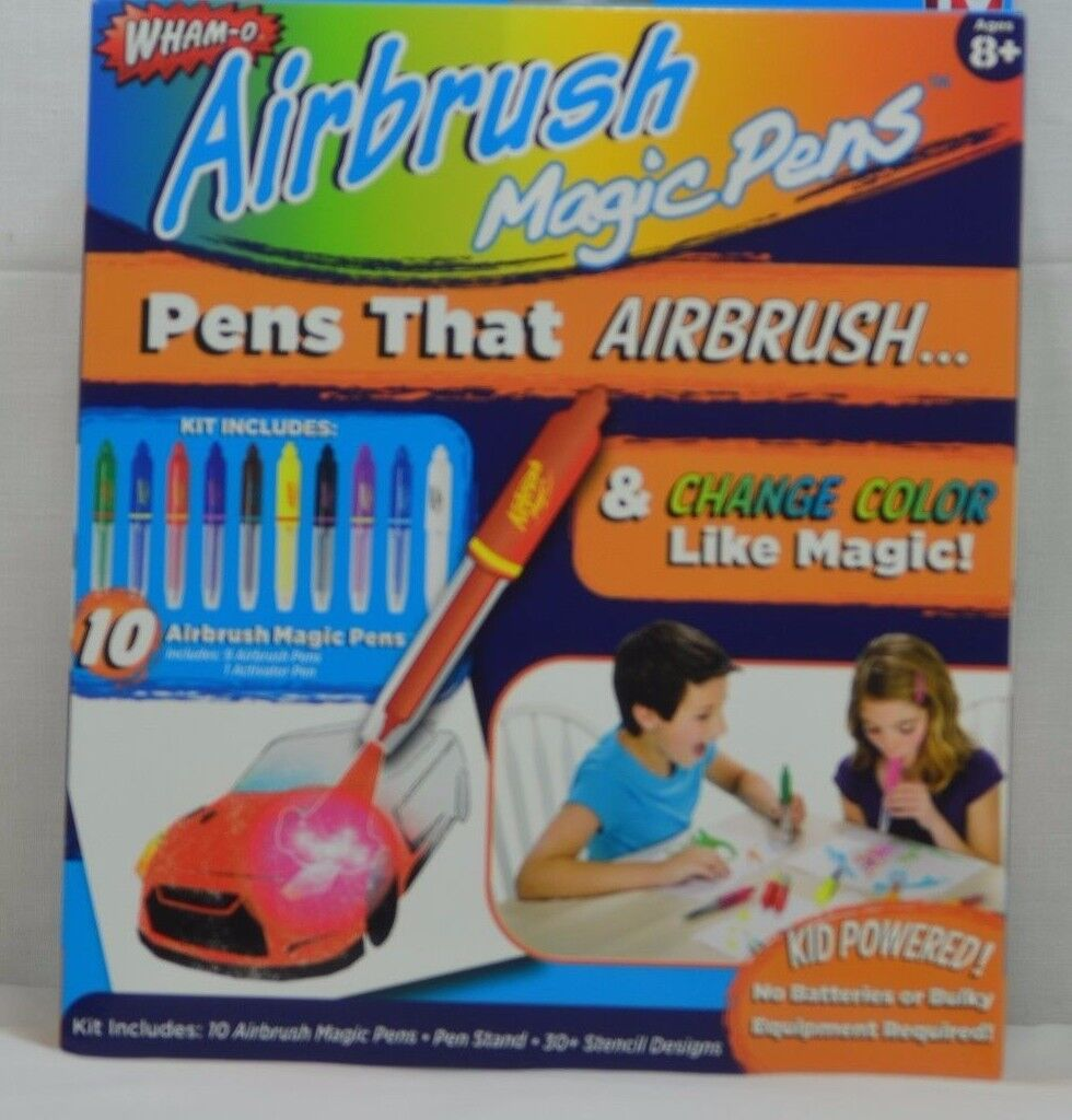 UPC 754502031184 product image for Airbrush Magic Pens- Airbrush & Change  Color Like Magic As ...