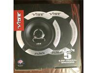 Vibe Slick 5 - 5.25'' Coaxial Speakers