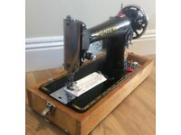 Singer 201K Semi Industrial Sewing Machine - Pre-Owned - Serviced - Warranty - Uk Delivery