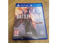 battlefield 1 on ps4 mint condition