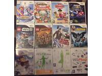 Wii Game lot bundle - swap or sale