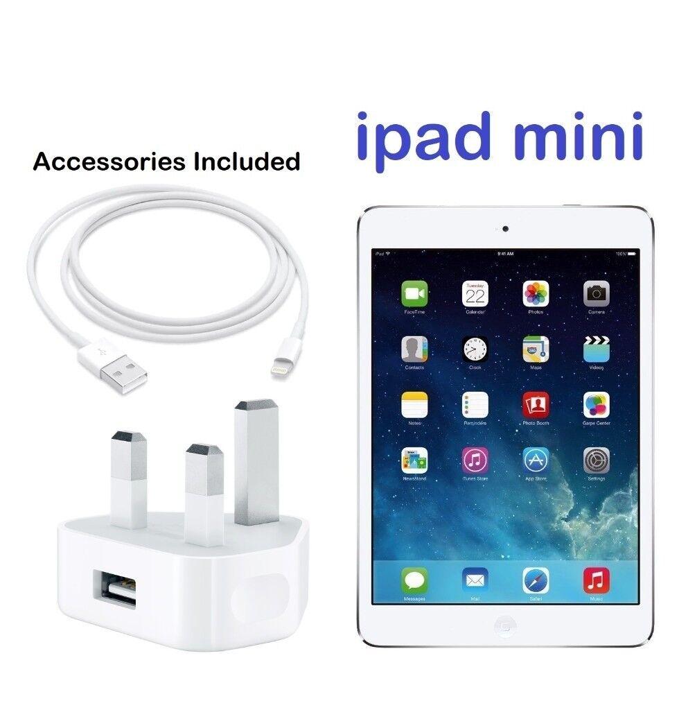 Apple Ipad Mini Wifi Cellular 16gb Md543b A 79 Inch Display White 1 Silver