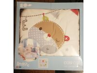 Red Kite Bertie Bear Cosi Cot Set with matching Spiraloo Activity Toy & Bertie Bear Soft Toy