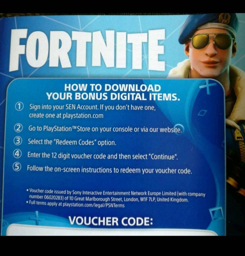 Playstation 4 Fortnite Skin Royale Bomber 500 V Bucks Code Key