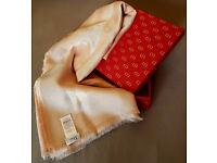 Dior womens silk scarf