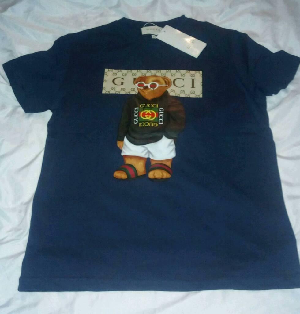 e0c703b3 Gucci teddy bear T-shirt - NAVY   in Sutton, London   Gumtree