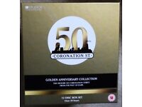 CORONATION STREET GOLDEN ANNIVERSARY COLLECTION - 12 DVDS -