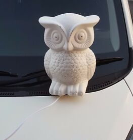 Owl shaped Bedside / Table Lamp