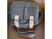 Waxed DSLR Brown Camera Bag! Like New! FOR SALE!