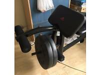 Adidas adjustable weight bench
