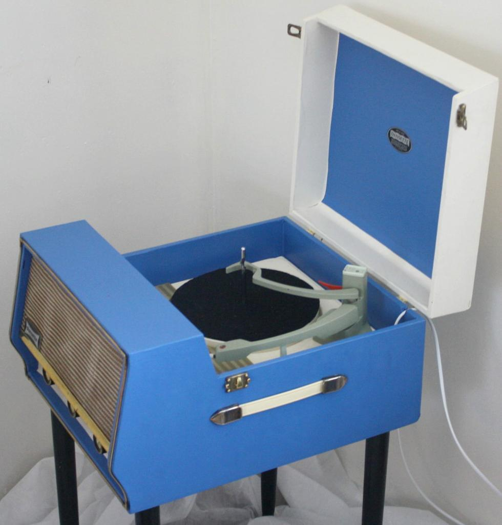 Stunning Restored Vintage 1958 Dansette Conquest Valve Record Player ...