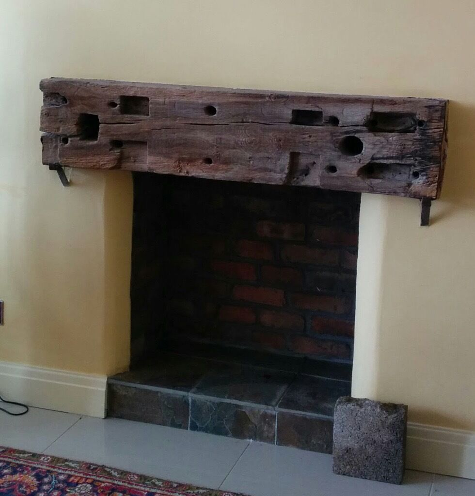 rustic solid wood beam for fireplace mantel shelf in dinas