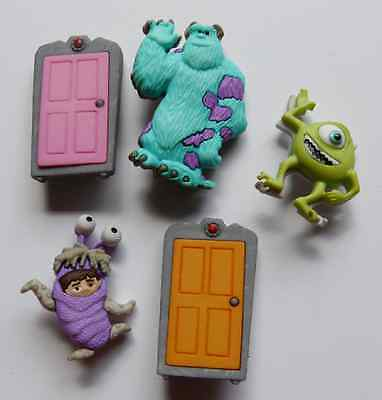 INC NOVELTY DRESS IT UP BUTTONS SEWING  CARDMAKING (Monsters Inc Dress Up)