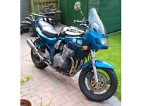NOW SOLD THANKS TO ALL ENQUIRERS Suzuki Bandit 600 + Givi Panniers and TopBox