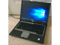 Dell Latitude D630 Laptop - Windows 10, Intel dual core processor, WiFi