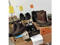 Work boots, riggers boots ,work trainers man and ladies LAST FEW PAIRS at bargain prices