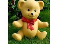 Teddy;cast stone garden ornament