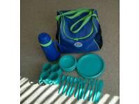Thermos picnic bag