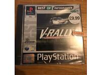 Driver And VRally --- New Factory Sealed RARE --- Playstation PS1