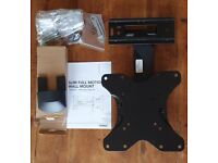 """VonHaus Slim Full Motion Wall Mount 23""""-42"""" with 35kg load capacity"""