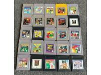 Nintendo Gameboy Games Cartridges For Original Nintendo Gameboy For Sale