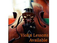 Violin Lessons Available, West End