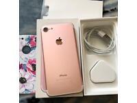 Apple IPhone 7 128 Gb Unlocked Excellent Working