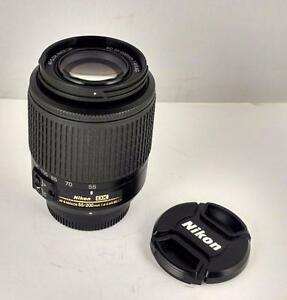 Nikon AF-S Nikkor 55-200mm 1:4-5.6G ED lens excellent with warranty