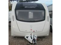 SWIFT ARCHWAY TWYWELL 2015 *ISLAND BED* 4 BERTH CARAVAN