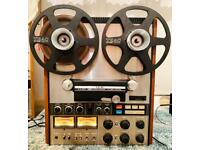 Teac A-7300 4 Track 2 Channel Stereo Reel To Reel 1975 Japan Rare
