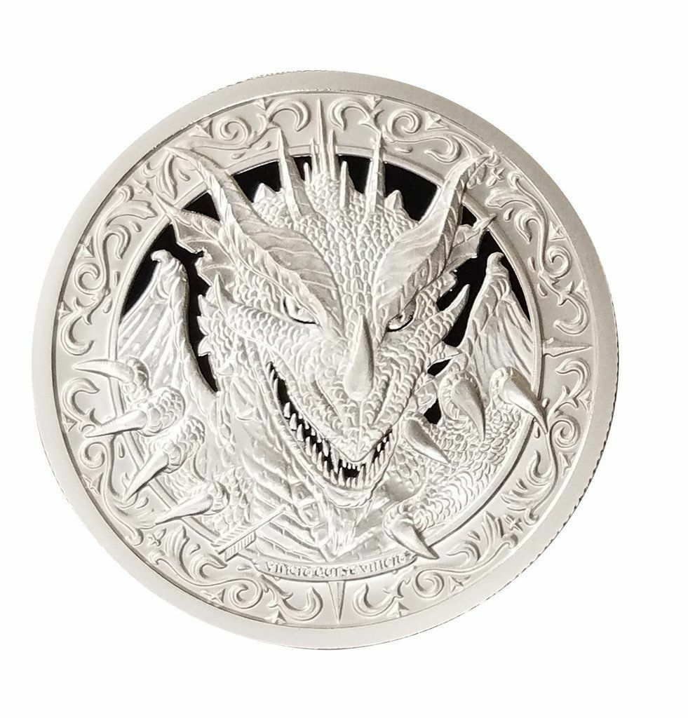 Купить The Destiny Coin 2 - The Dragon - 2 oz .999 Silver BU Round - IN-STOCK!!!