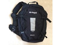 Kriega R25 motorcycle touring or commuting rucksack, suit BMW GS, KTM, Honda or Suzuki, not Givi