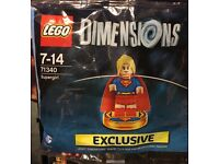 Sealed 71340 LEGO Supergirl Dimensions Polybag.