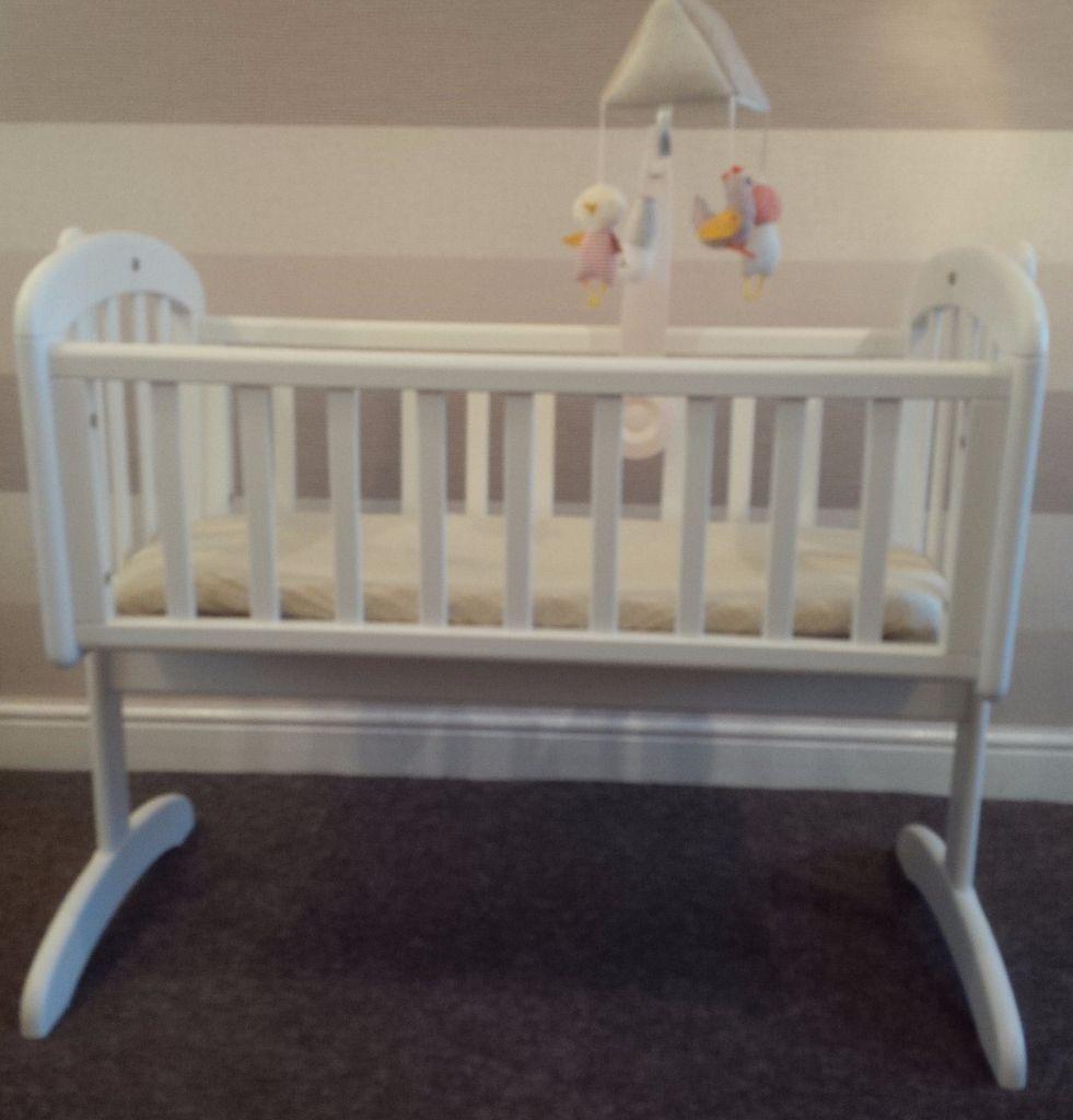 John lewis leather driving gloves - Baby Bed John Lewis John Lewis Swinging Crib With Mattress And Mamas Papas Mobile 45