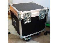 Flight Case on wheels (heavy duty with foams inside)