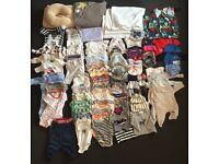 Boys 0-3/4 months clothes
